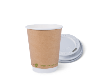 12oz I am eco™ Smooth Double Wall & LID