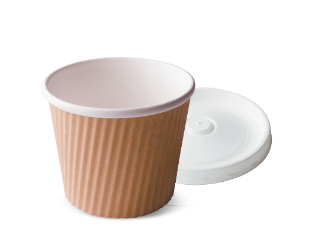 12oz RIPPLE-WRAP™ UNI-CUP & LID