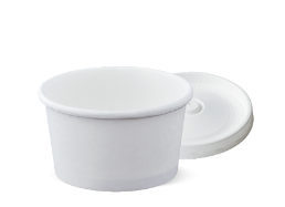 8oz Single Wall Uni-Cup & LID
